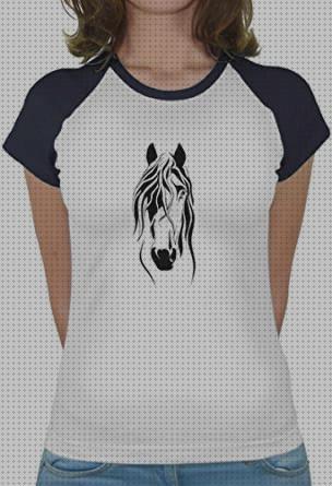 cabeza de caballo que sale de un regalo de herradura Camiseta