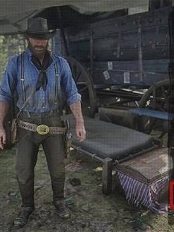4 Mejores Cambiarse Ropa Caballo Red Dead
